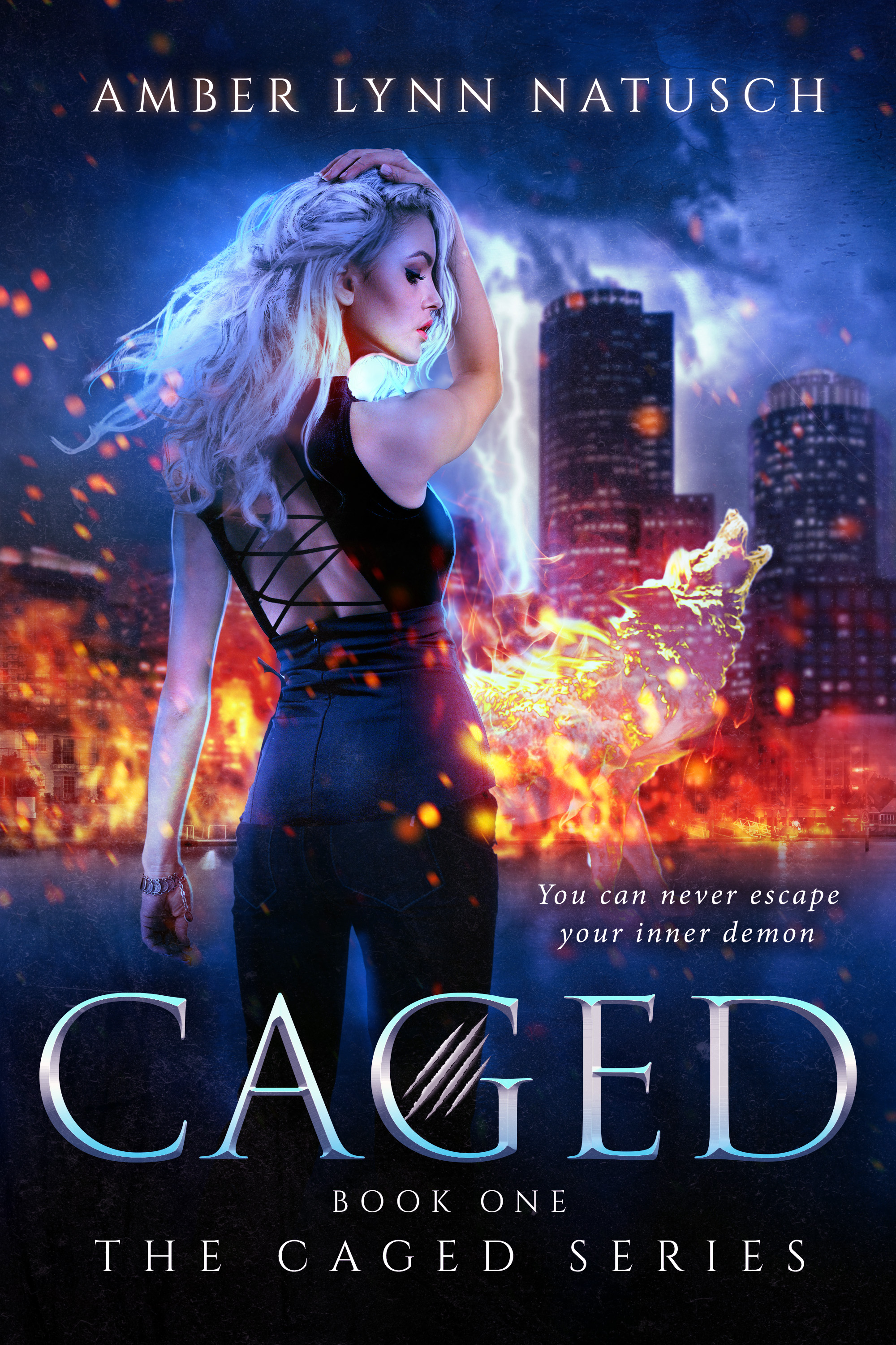 Book Cover: Caged