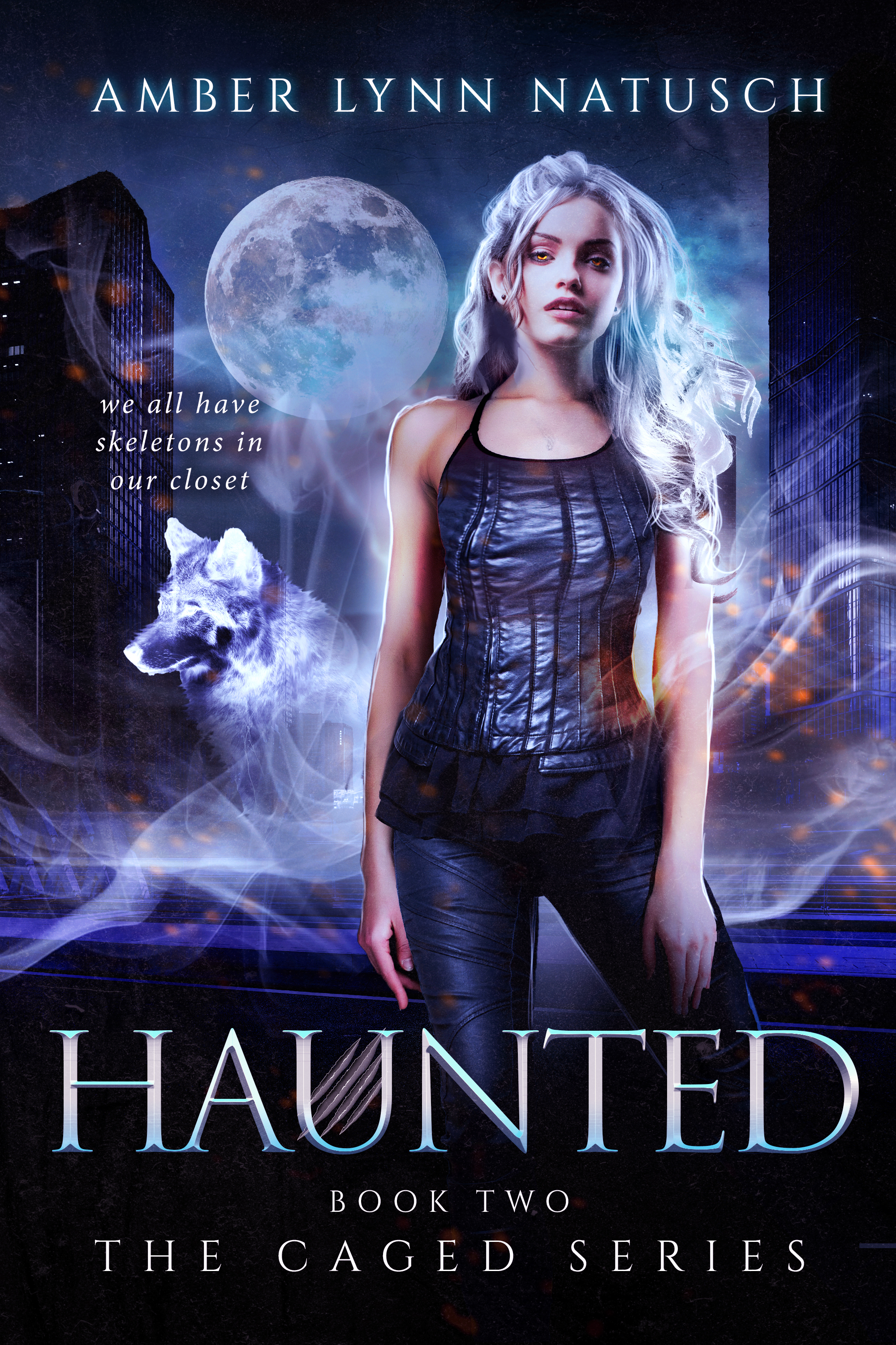 Book Cover: Haunted