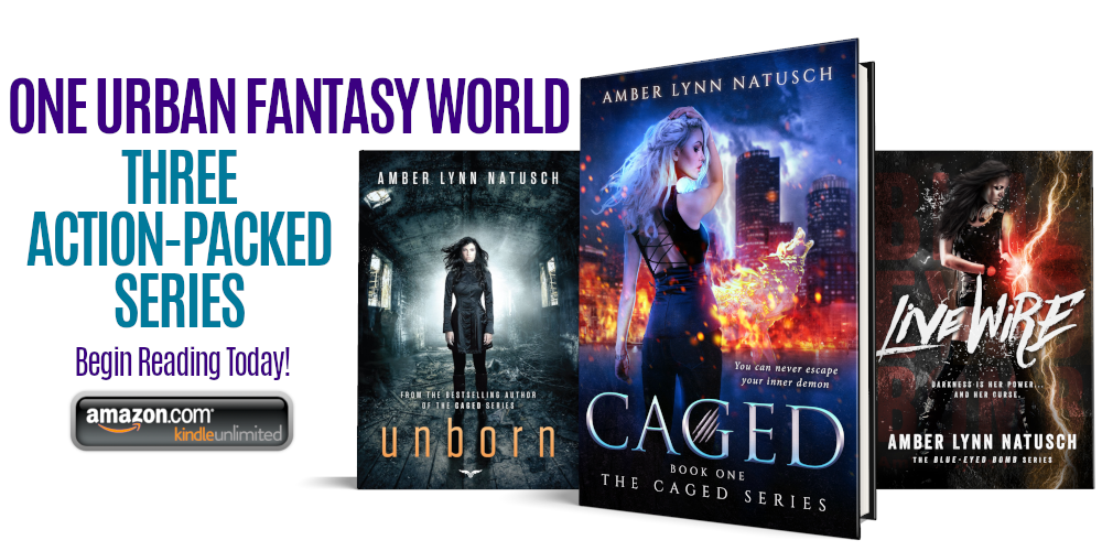 ONE URBAN FANTASY WORLD. THREE ACTION-PACKED SERIES.