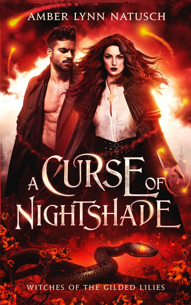 Book Cover: A Curse of Nightshade